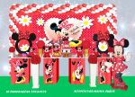 Minnie Vermelha Cubos