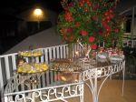 doces mesa em ferro