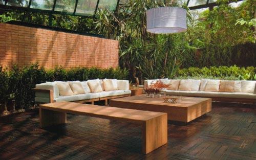 projeto de ofuro no jardim:Decks em Placas de Madeira Sob. Medida – TOQUE ESPECIAL MADEIRAS