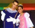 Príncipe Arthur e Princesa Gleice