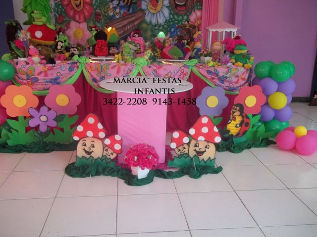 JARDIM ENCANTADO  MÁRCIA FESTAS INFANTIS