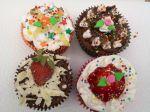 Mini Bolos, Cupcake e P�o de Mel