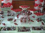 mesa de doces personalizados