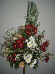 Arranjo de cerimônia em flor do campo