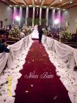 Arranjo de cerimônia em rosas e lisianthus