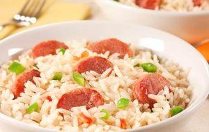 arroz churrasco buffet opção