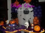 Decora��o Festa Teen Hallowen - Buffet Op��o