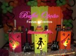 Decora��o Festa Teen Citrica - Buffet Op��o