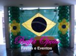 Decoração Copa do Mundo - Buffet Opção Festas e Eventos