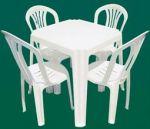 Alugamos mesas e cadeiras de plástico para o seu evento. Informe-se ligando para nós.