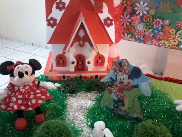 Minnie Vermelha!  Parabéns e Cia Decoraç u00e3o de Festas , Eventos e Cursos!!! # Decoração De Festas E Eventos Cursos