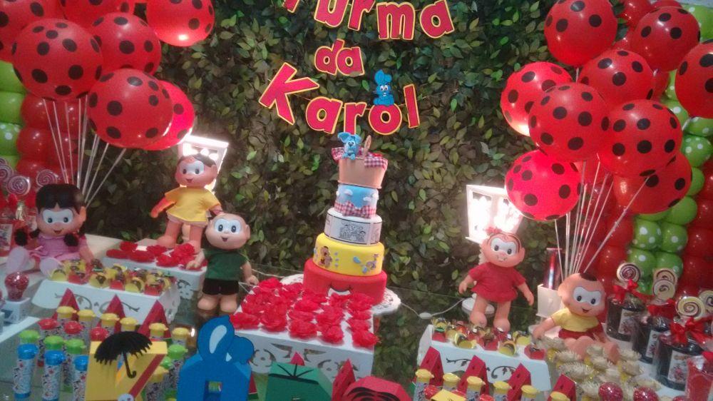 Turma da M u00f4nica Decoraç u00e3o com Balões  Parabéns e Cia Decoraç u00e3o de Festas , Eventos e  -> Decoração De Festas E Eventos Cursos