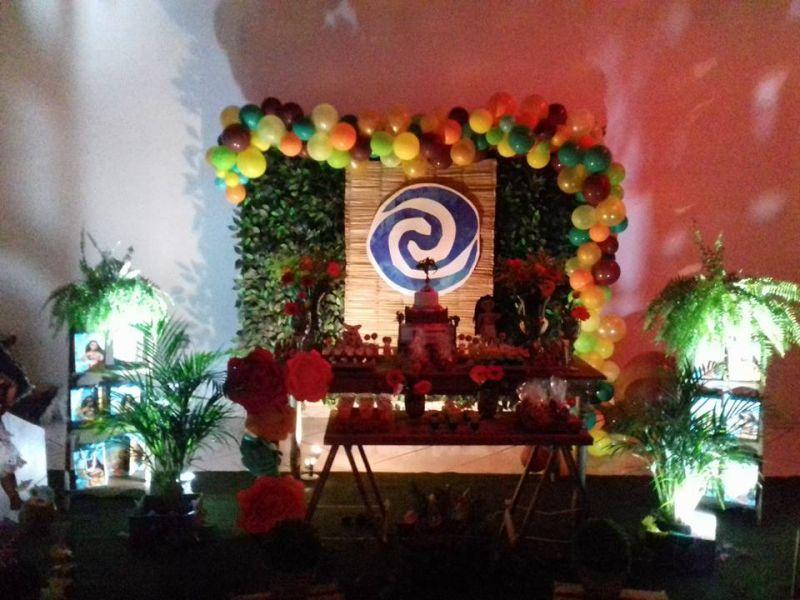 Moana  Parabéns e Cia Decoraç u00e3o de Festas , Eventos e Cursos!!! -> Decoração De Festas E Eventos Cursos
