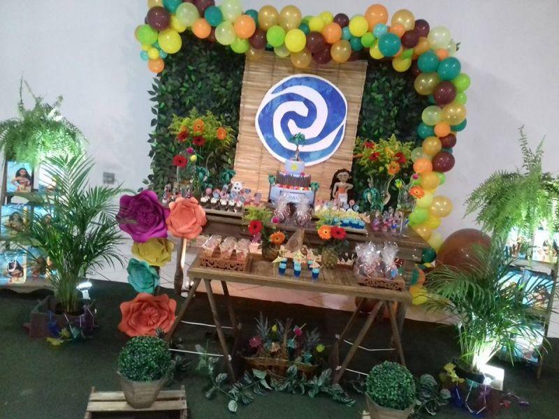 Moana  Parabéns e Cia Decoraç u00e3o de Festas , Eventos e Cursos!!! # Decoração De Festas E Eventos Cursos