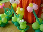 Festa cocoricó - Decoração com Balões