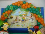 Decoração com balões - Arco