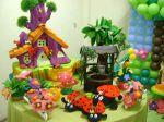Joaninhas,casinha,flores,etc...