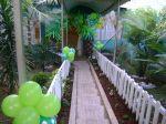 Arco Coqueiro/Entrada do salão