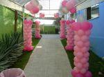 Entradas de Festas - Decorações com balões