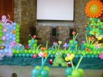 Cenário de Balões esculturas!