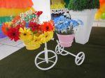 Bicicletinha flor
