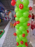 Coluna de Balão Decorada