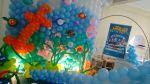 Curso de Arte com  Balões Avançado! Fundo do Mar