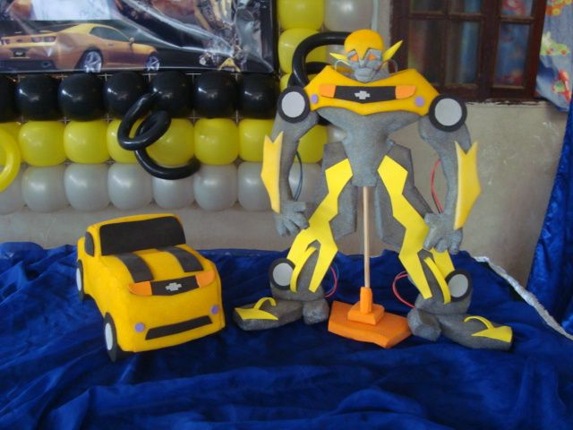 Transformers  DECORAÇÃO DE FESTAS