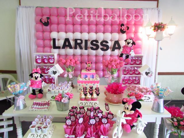 decoracao festa minnie rosa : decoracao festa minnie rosa:festas e eventos orçamentos links local livro de visitas festa