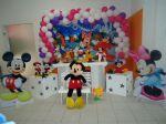 Turma do Mickey- Cen�rio