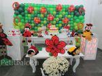 Joaninhas 2 - com mural de balões