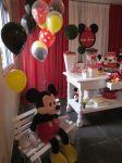 Mickey e Minnie Vermelha - Ana CLara