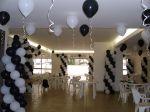 decora��o preto e branco