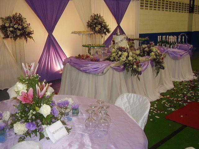 Decoracao De Sala Lilas ~  branca de neve decoracao de festa # decoracao de festa branca e lilas