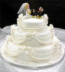 Bolo de Casamento !