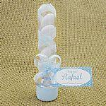 Lembrancinha mini tubetes personalizado para nascimento aniversário e chá de bebê