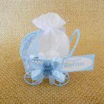 Lembrancinha carrinho de Bebê personalizado para nascimento e chá de bebê