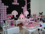 Mesa proven�al mine rosa