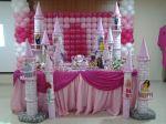 mesa tema princesas
