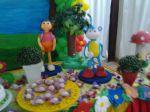 mesa tema Dora aventureira