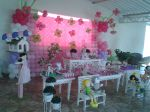 mesa tema bonecas de pano