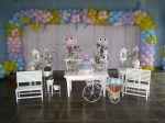 mesa provençal corujas