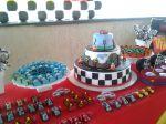 mesa tema carros