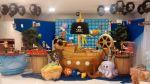 mesa tema piratas