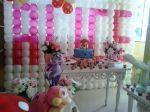 mesa proven�al primavera rosa