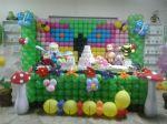 Mesa tema em balões