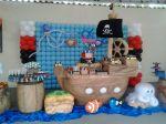 Mesa cenário Barco Pirata