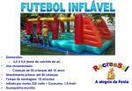 Quadra futebol / Pula-pula inflável - Informações Técnicas