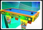 Novidade!!! Mesa infantil top de mercado com sistema de flutuação aperfeiçoado que dá muito mais velocidade ao disco, garantindo mais adrenalina a esse jogo que já é sensação nas festas infantis.