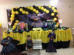 decoração tradicional Batman tel:3229-0275 /9-9602-3072 /99705 5059
